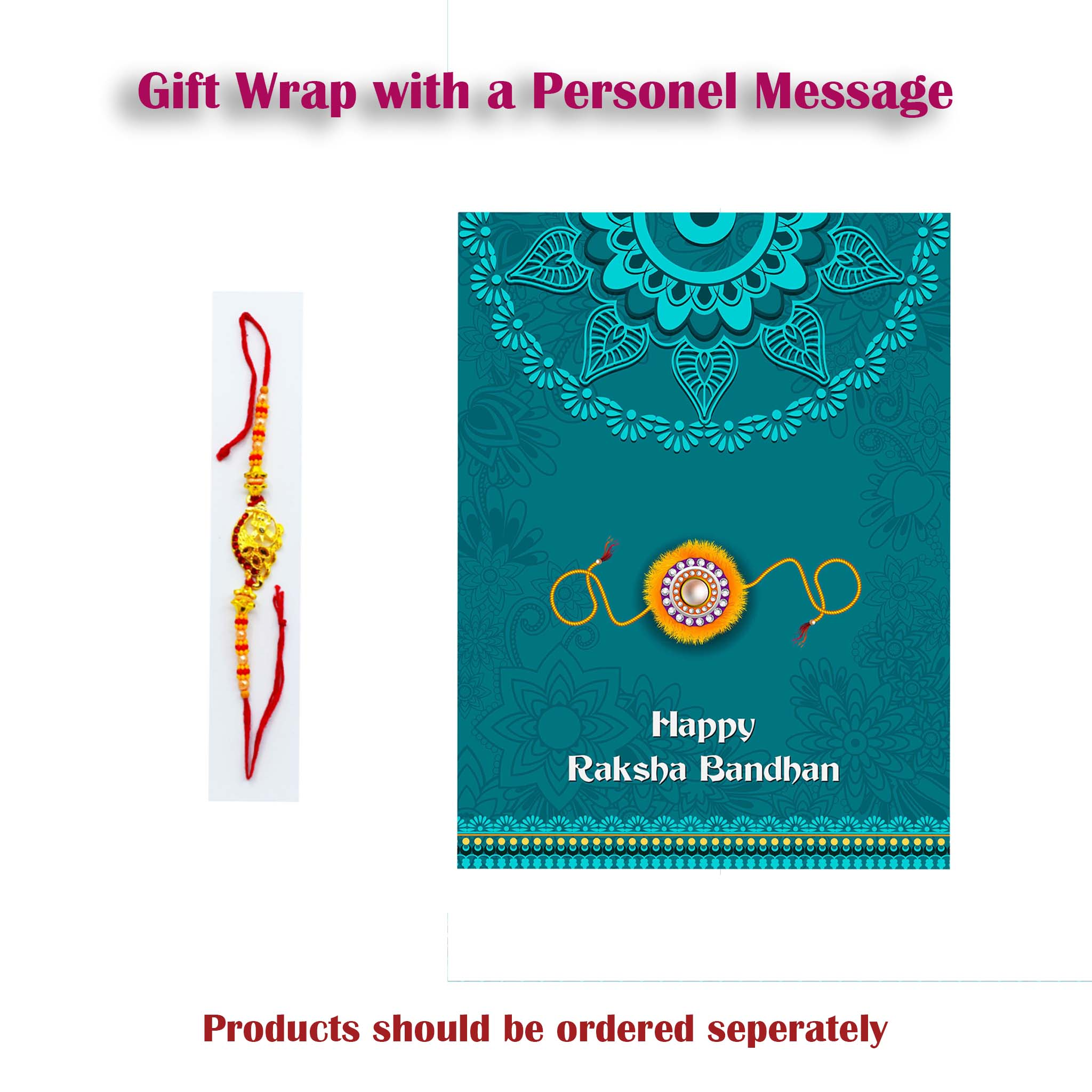 Gift Warp with a Personal message